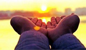 zon-handen